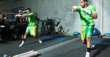 Amir Khan Shadow Boxing