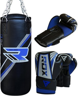 Rdx Kids Punch Bag With Training Gloves